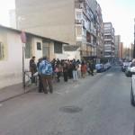 Visita al comedor San Simón de Rojas