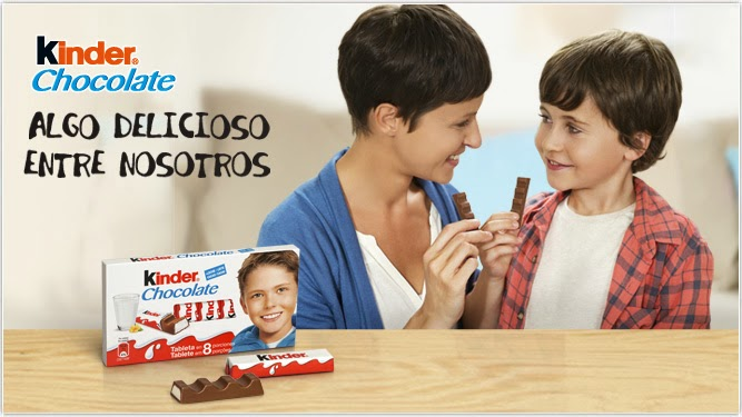 Promoción:»Actívate con Kinder Chocolate»