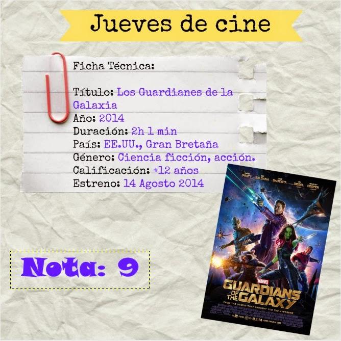 Jueves de cine: Los Guardianes de la Galaxia