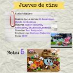 Jueves de cine: El asombroso mundo de Gumball