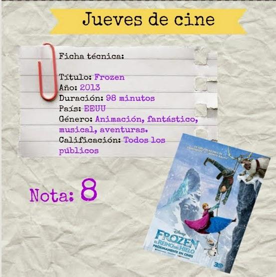 Jueves de cine: Frozen