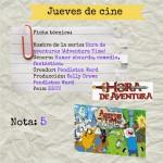 Jueves de cine: Hora de aventuras