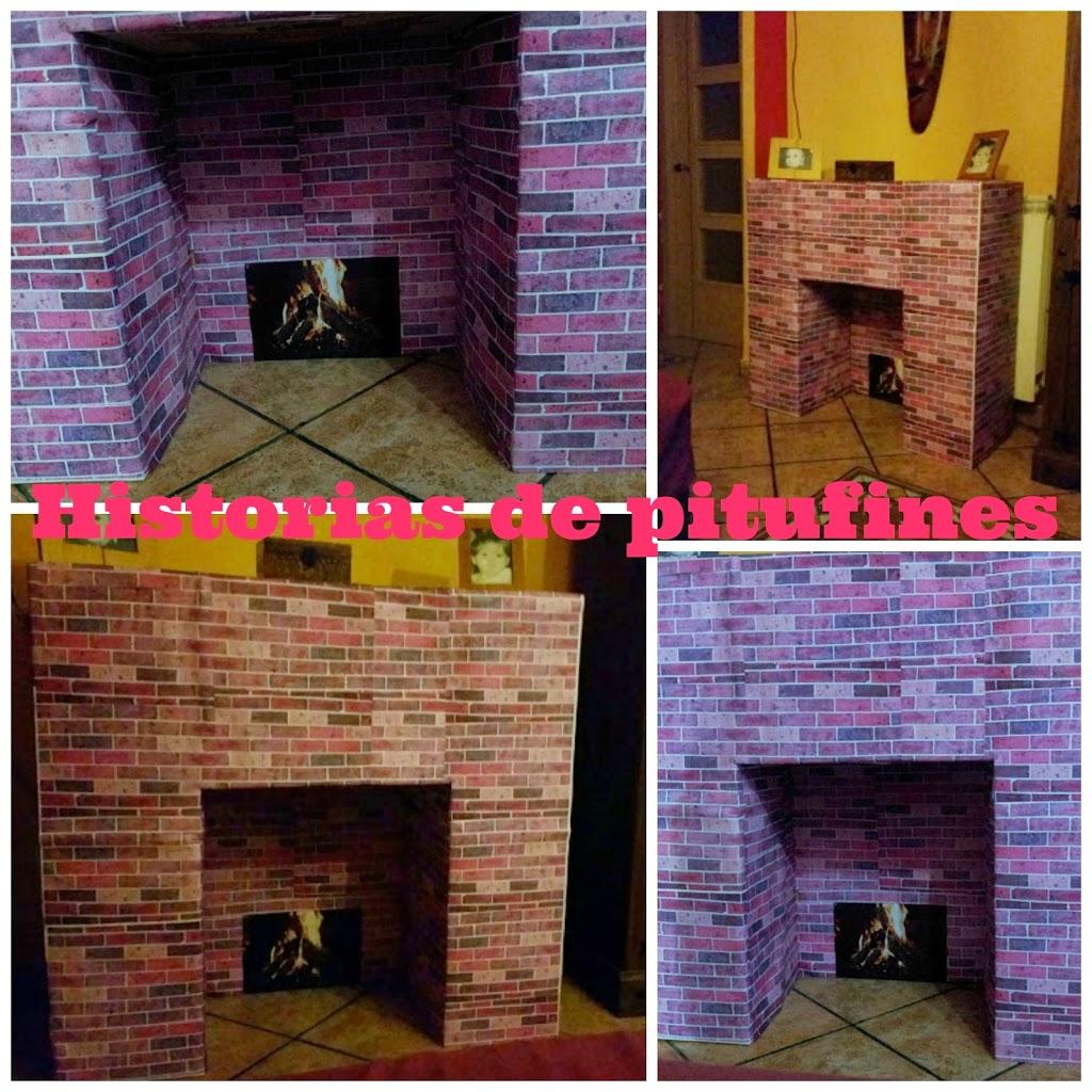 Diy c mo hacer una chimenea casera - Chimeneas artificiales decorativas ...