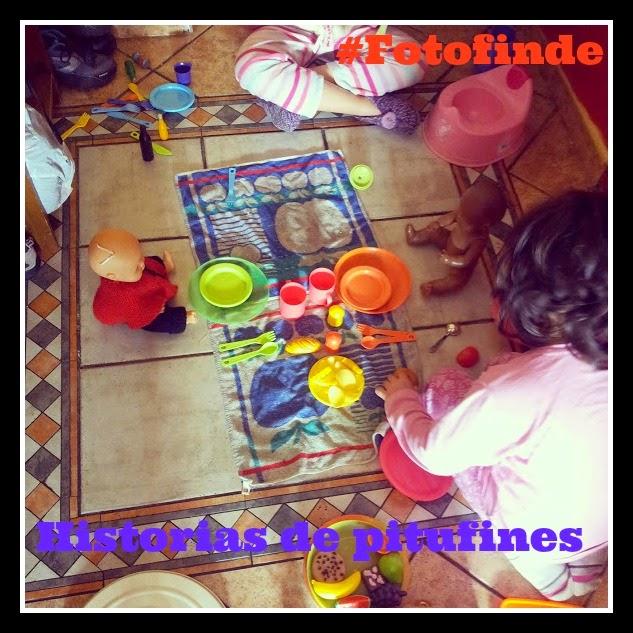 #Fotofinde: Entre primas anda el juego