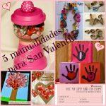 5 Manualidades para San Valentín