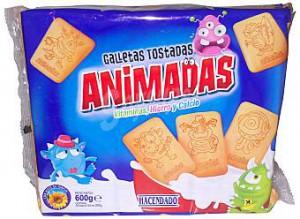 galletas tostadas animadas mercadona