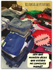 montón ropa Ahorro Children