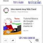 Tutorial de Google + para móviles