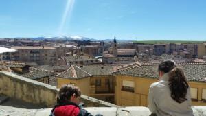 Vistas desde Segovia
