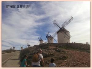 camino a los molinos de viento