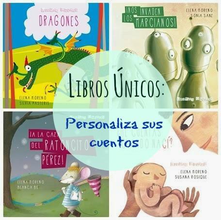 Libros únicos: cuentos personalizados