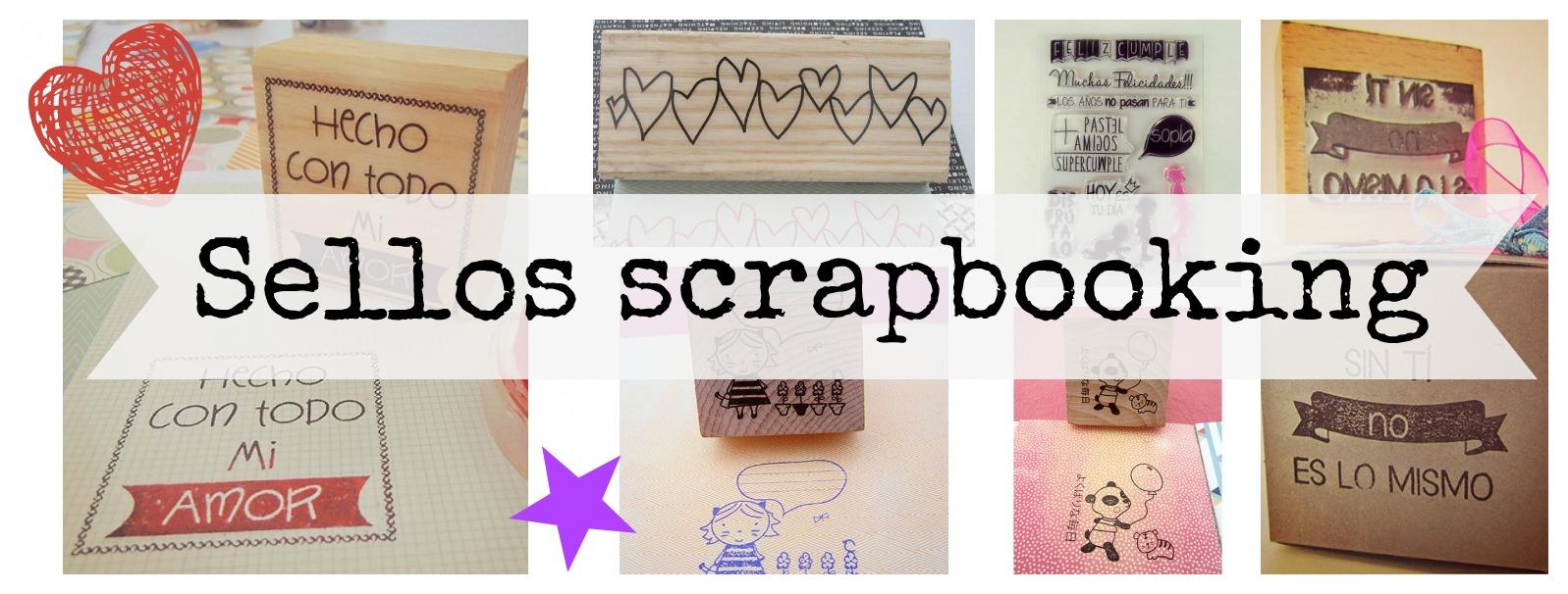 sellos scrapbooking