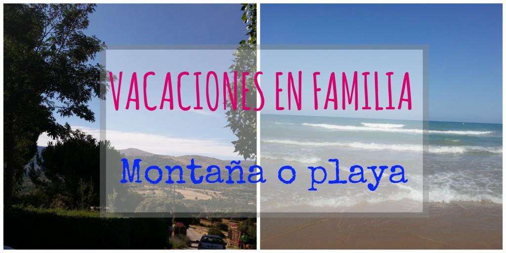 planeando vacaciones en familia