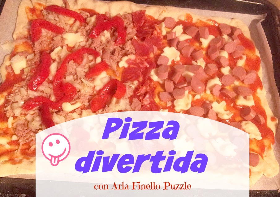 Pizza divertida con Arla Finello Puzzle