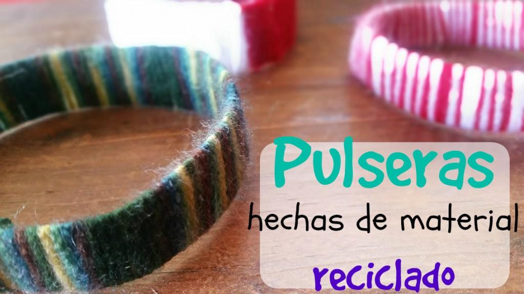pulseras recicladas