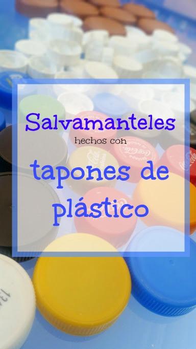 salvamanteles de tapones de plástico