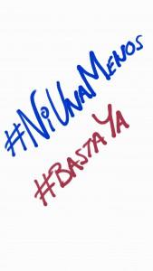 Unámonos y digamos #NiUnaMenos