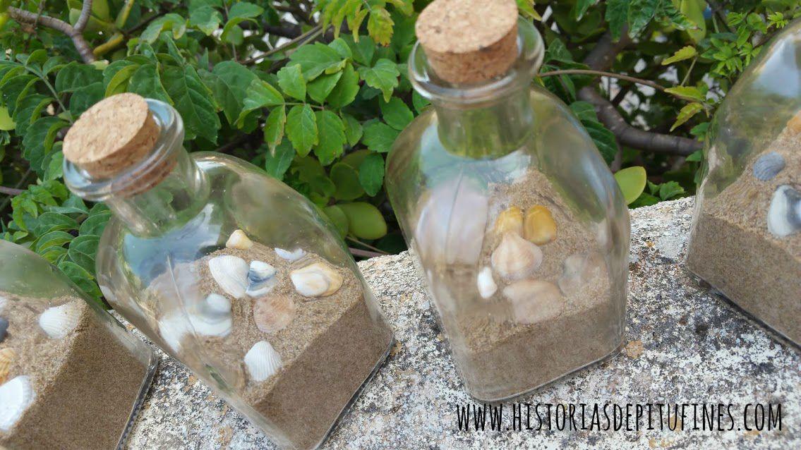 Botella De Agua Botellitas de cristal ...
