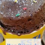 Mug Cakes de Cola Cao