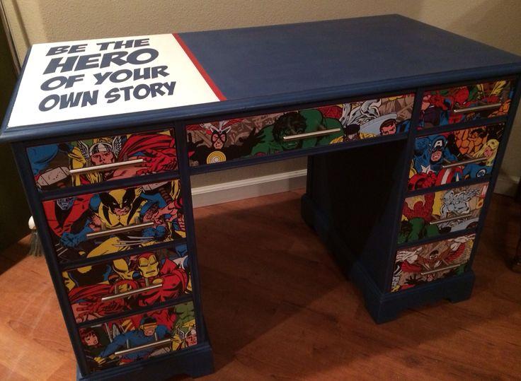ideas decoración superheroes