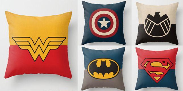 decoración superhéroes