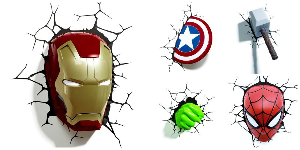ideas habitación superheroes