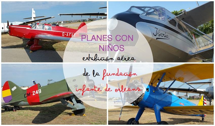 Exhibición aérea gracias a la Fundación Infante de Orleans