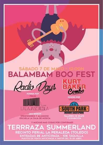 Balambam Boo Fest, un festival para toda la familia