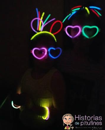 posado fluorescente
