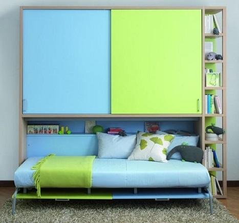 camas para habitaciones pequeñas
