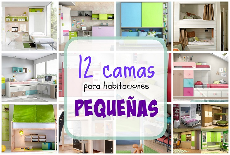 12 camas para habitaciones peque as for Decoracion habitacion infantil pequena
