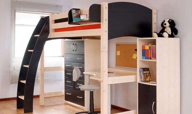 12 camas para habitaciones peque as - Muebles infantiles para habitaciones pequenas ...