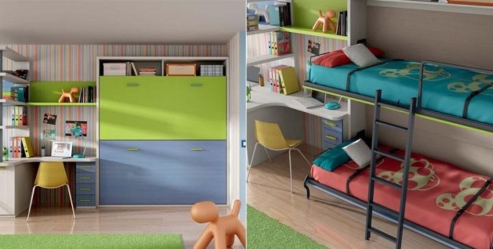 12 camas para habitaciones peque as - Literas para habitaciones pequenas ...