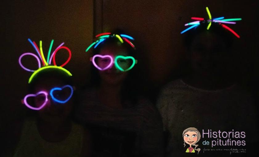 fluorescente adornos