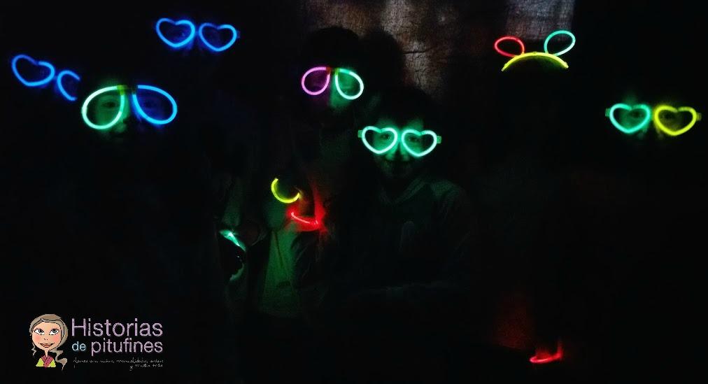 photocall fluorescente