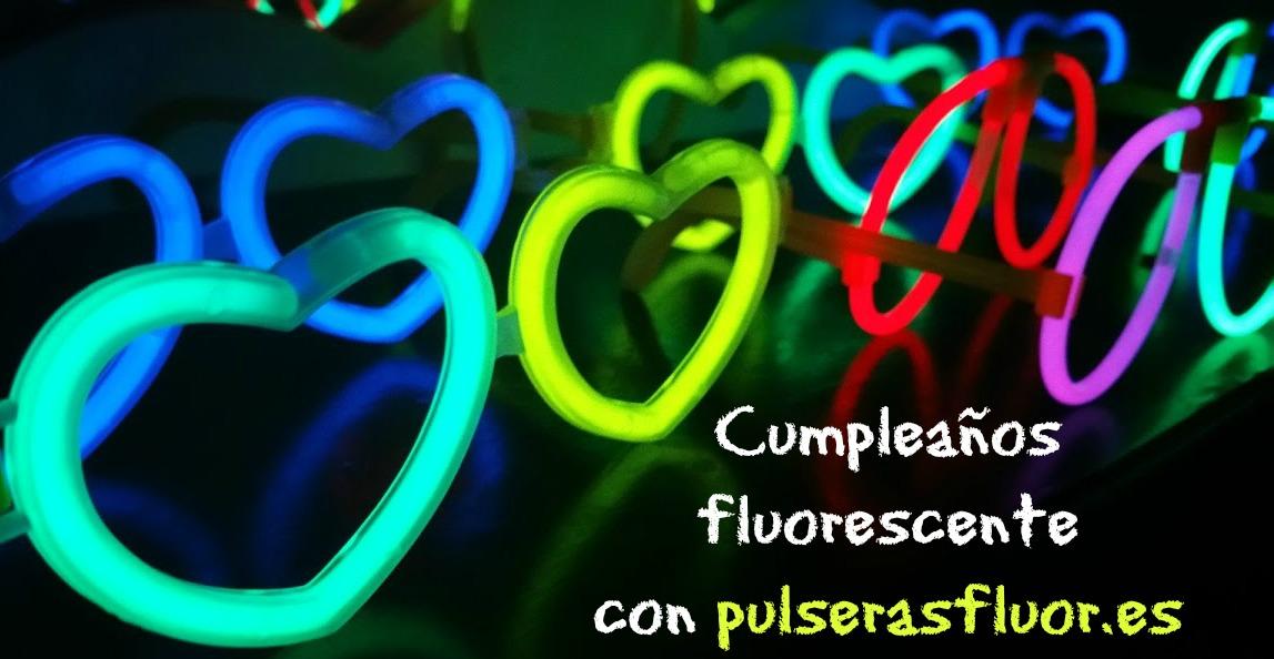cumpleaños fluorescente