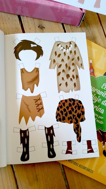 vestidos recortables