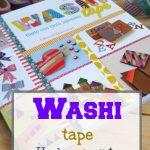 Washi Tape, hazlo con cinta japonesa