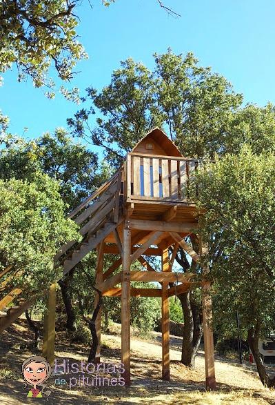 Camping y caba as en los rboles ecoturismo en monte - Cabanas en los arboles ...