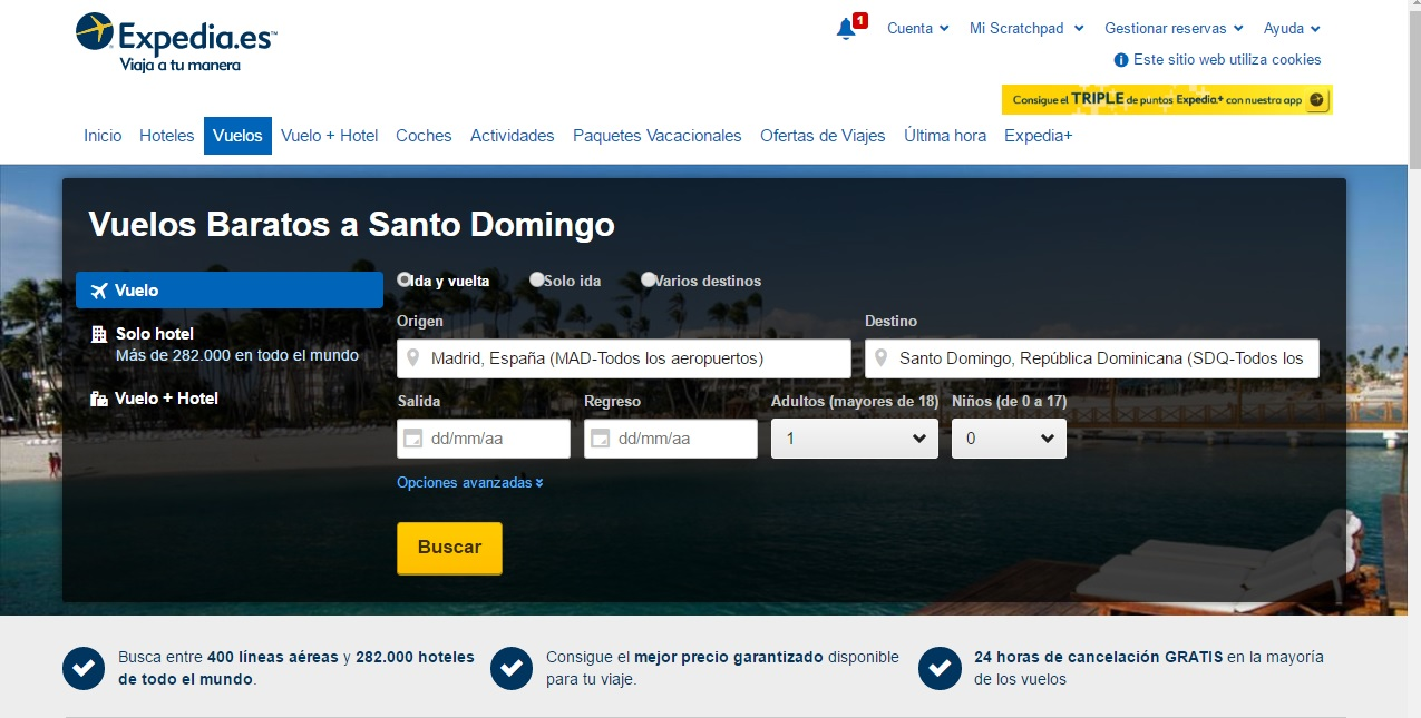 Viajar con niños a Santo Domingo, recomendaciones