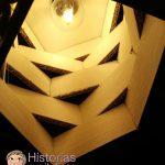 Cómo hacer una lámpara de cartón