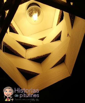 lampara de carton