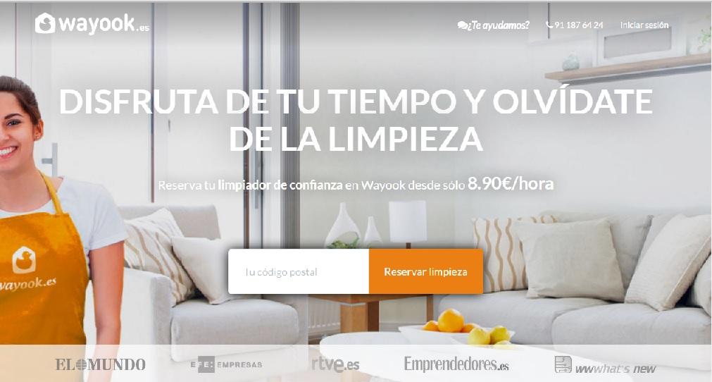Wayook servicio doméstico por horas