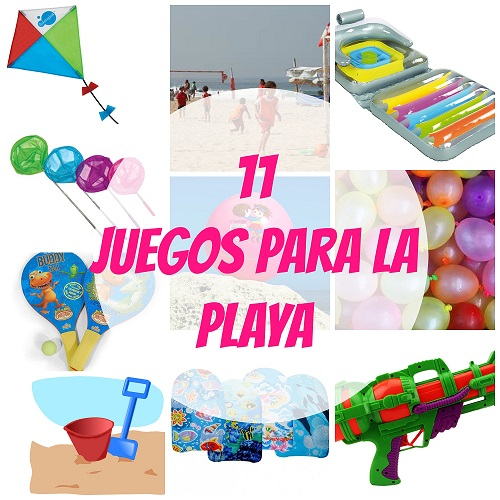 11 Juegos para la playa: diversión asegurada