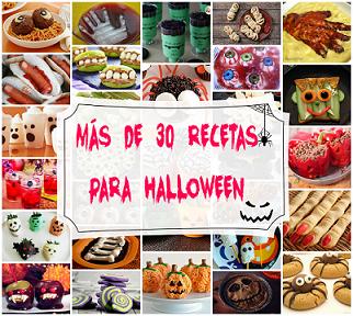 31 Recetas para Halloween divertidas