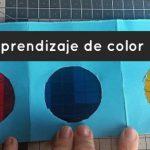 Tarjetas de aprendizaje de color: cómo hacerlas