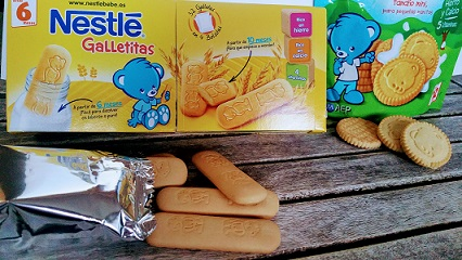 nestlé galletas