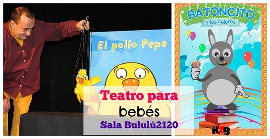 Teatro para bebés en marzo en Madrid
