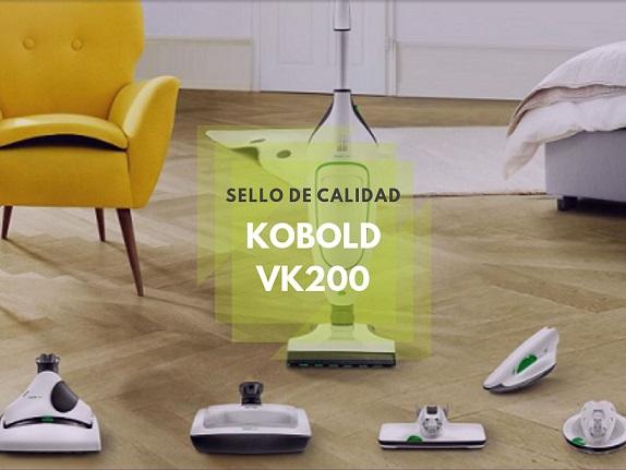 Kobold VK200 : el super aspirador