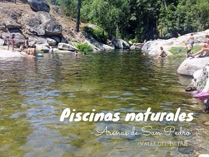Piscinas naturales en Arenas de San Pedro